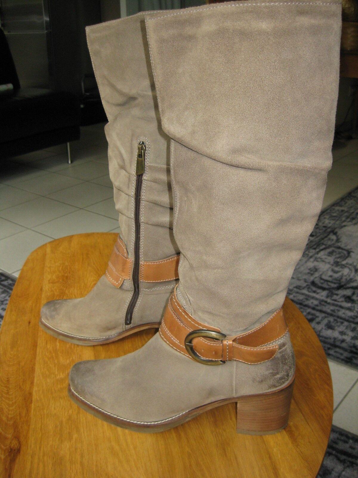 Stiefel VERO CUOIO, Style, Wildleder, Gr.41, Vintage Style, CUOIO, Top Zustand c9f906