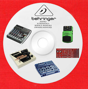 Details about Behringer Audio Repair Service Schematics manuals on on