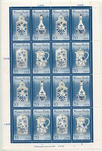 Germany-GDR-1989-Mi-3241-3244-II-Zd-Arc-Mint-MNH-More-Sh-Shop