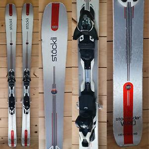Ski-occasion-Stockli-Stormrider-vario-2016-Fixation-Salomon-M12-Black-White