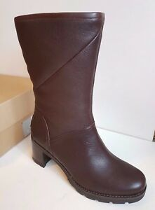 Image is loading Ugg-Boots-Jessia-Stout-Brown-Knee-High-Size-