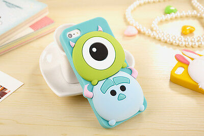 3D Cute Cartoon Disney Silicone Soft Case Cover for iPhone 5S/6/6s plus Samsung