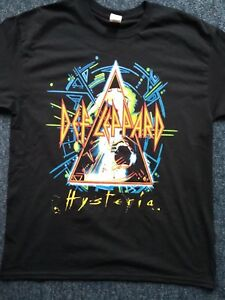 Def-Leopard-2018-UK-tour-Shirt-Size-XL