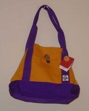 Urban Outfitters Chums Bee/Violet Gold/Purple Sweat Nylon Medium Tote S/O NWT