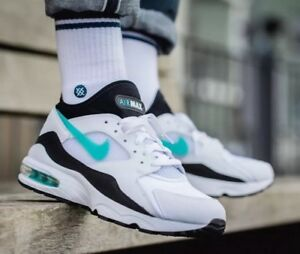 1b8d1e4e90 Air Max 93 OG 'Dusty Cactus' 306551-107 White Size UK 13 EU 48.5 US ...
