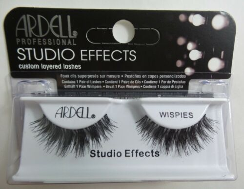 (LOT OF 20) Ardell Studio Effects WISPIES False Lashes Eyelashes Black Strip