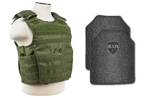 Body Armor    Bullet Proof Vest   AR500 Steel Plates   Base Coating EXP OD 11x14  take up to 70% off