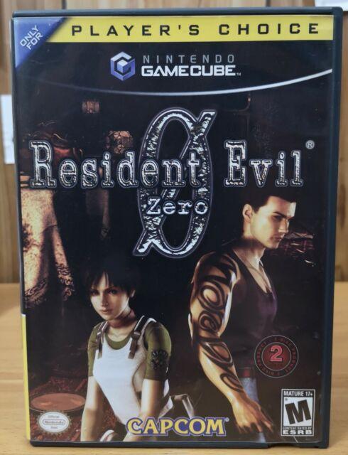 Resident Evil Zero 0 (Nintendo GameCube, 2003, Capcom) *2 Disks M