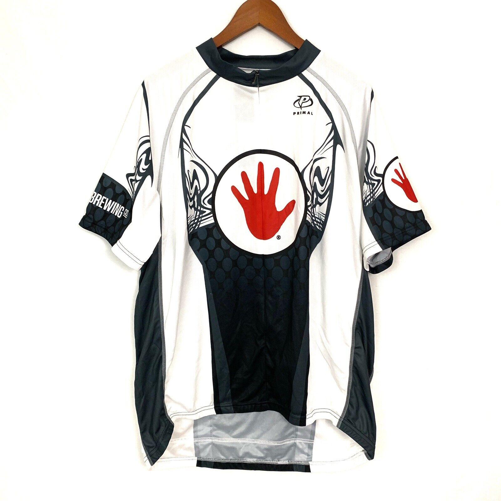 NWT  Primal Wear LEFT HAND Team Sport Cut Men's CYCLING Jersey, Sz 3XL PROSENSOR