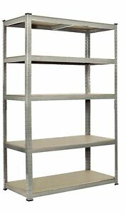 Warehouse-Racking-5-Tier-Garage-Shelving-Unit-Steel-WIDE-Steel