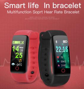 Smartwatch-MISURATORE-PRESSIONE-OROLOGIO-Cardiofrequenzimetro-BLUETOOTH-Band-IT