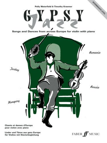 Gypsy Jazz Intermediate Jazz Instrumental Solo Piano Learn Play FABER Music BOOK
