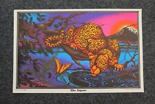 Vintage NOS The Leopard 1970/'s Blacklight Poster Mini 11x17 AA Sales PP-1153