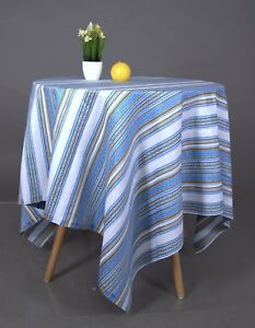 Image Is Loading Tablecloth  Decorative Fabric Ukrainian Ornament Wedding Decor Blue