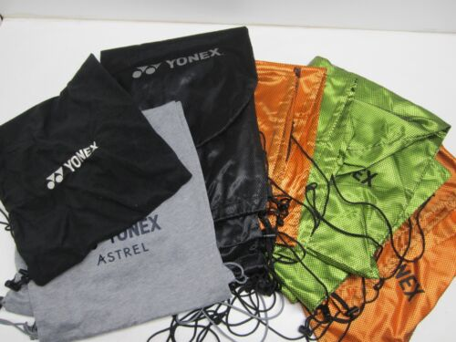 **NEW** YONEX SINGLE TENNIS RACQUET COVER/POUCH WITH DRAWSTRING (VARIOUS)