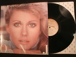 Olivia-Newton-John-Greatest-Hits-1977-Vinyl-12-039-039-Lp-VG-70-039-s-Pop-Rock-AOR