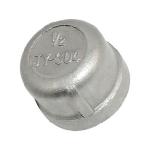 1Pcs-1-2-034-Cap-Female-Stainless-Steel-SS-304-Threaded-Pipe-Fitting-NPT