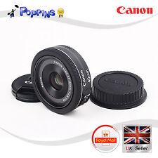 Genuine Canon EF 40mm f2.8 STM Lens EF40 28 STM BLACK