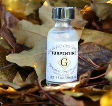 Diamond G Forest 100% Pure Gum Spirits of Turpentine (Organic) 1oz