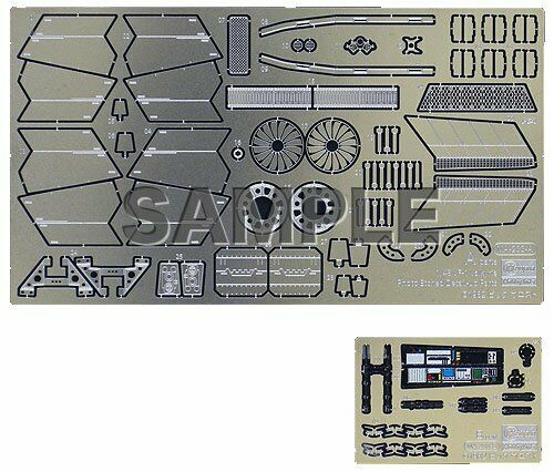 Hasegawa Macross VF-1 Valkyrie etching parts 1//48 parts for scale plastic model
