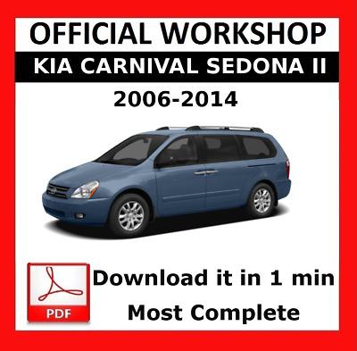 DOWNLOAD MANUAL KIA CARNIVAL SEDONA 2002-2006 WORKSHOP SERVICE REPAIR