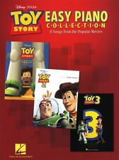 Toy Story Learn to Play Buzz Woody Pop Beginner EASY Piano Music Book