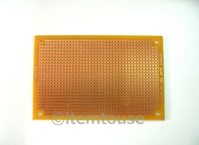 2 x SGC09 PCB Prototyping Circuit Board Strip Board 73x111 mm Vertical