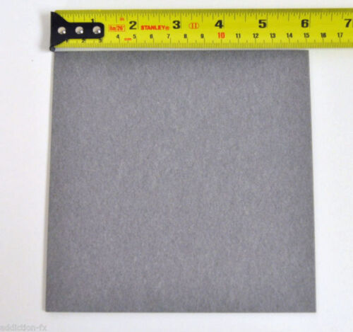"6/'/'x6/'/' Sheet,Grey,Thick 0.093/"",Qty 1 pc Bobbin Flatwork vulcanized Fiber board"