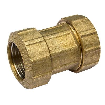 PE Rohr Verschraubung Messing DVGW   Kupplung, Winkel, T-Stück, Wandscheibe
