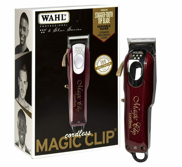 Wahl Professional 5-Star Magic Clip Cord Cordless Hair Clipper for Barbers-new