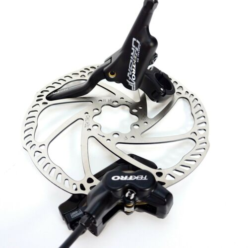 Tektro HD-M745 Hydraulic MTB Bike Disc Brake with 180mm Rotor Front// Rear Sets