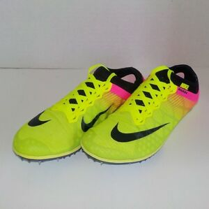NEW Nike MAMBA 3 Distance Running Shoe FIXED SPIKE 706617 999 MEN 6 = WOMAN 7.5