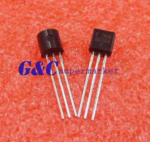 100PCS BC184 BC184C NPN TO-92 General Purpose Silicon Amplifier Transistor