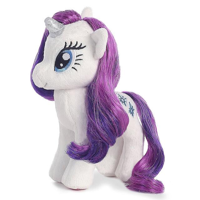 "56538716cda Ty Beanie Sparkle 16"" My Little Pony Plush Rarity Unicorn MLP Stuffed  Animal Toy"