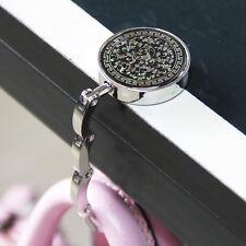 Item 4 Round Table Vintage Flowers Foldable Purse Bag Hanger Handbag Hook Holder Us