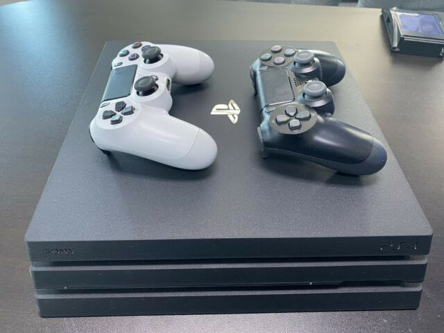 Sony PlayStation 4 Pro 1TB Jet Black Console