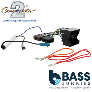 Details about VW Volkswagen Caddy 2003> Radio Stereo Wiring Harness on