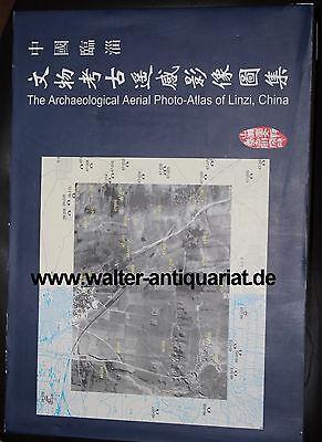 Kraftvoll The Archaeological Aerial Photo-atlas Of Linzi China 2000 Archäologie Archeology