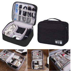 Portable-Electronic-Accessories-Organizer-Travel-Cable-USB-Drive-Hand-Bag-Case