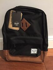 NEW Herschel Supply Co. Heritage Kids Backpack Black One Size