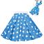 ROCK-N-ROLL-POLKA-DOT-SKIRT-21-034-Length-039-50s-GREASE-LADIES-FANCY-DRESS-COSTUME Indexbild 12