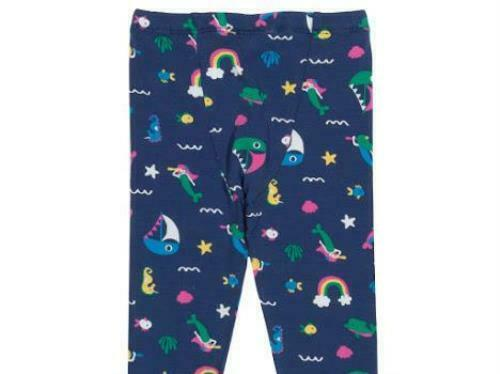 Blue Kite Clothing Baby Land Ahoy Rainbow Organic Cotton Leggings