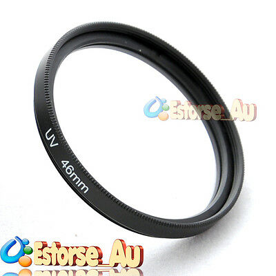 46mm UV Ultra-Violet Filter Lens Protector For Canon Nikon Pentax Olympus Sony