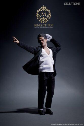 CRAFTONE Michael Jackson Billie Jean Superstar King of pop 1:6 Action figure toy