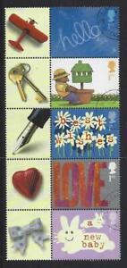 Grossbritannien-2002-Gruesse-Briefmarken-Anlaesse-Set-Mit-5-Fein-Gebraucht-Perf-14
