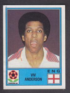 Panini-Fútbol 80 # 277 Viv Anderson-Nottingham Forest
