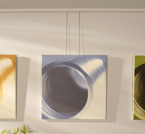 FREE SAMPLE HOOKS BOHLE ART STUDIO WHITE LOOPED PICTURE HANGING SYSTEM DLX KIT