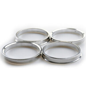 4 X Anillos Espita 60.1-72.6 Cubo de rueda anillo central Renault Clio Lexus Toyota Bmw