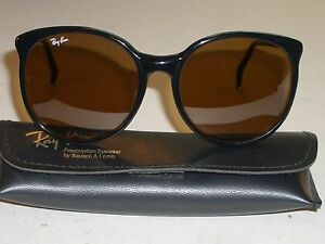 Details About 56mm Bausch Lomb Ray Ban W0348 B15 Brown Color Contrast Lens Round Sungles