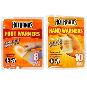 Hot-Hands-Hand-Warmers-amp-Foot-Warmers-Heat-Warming-Hothands-Outdoors-WorkCamping